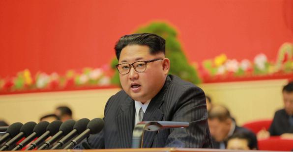 习大大贺金三胖被推举为朝鲜劳动党委员长