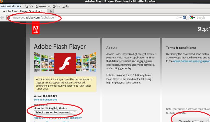 Linux(centos)下安装flash插件